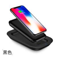 无线充电宝 10000毫安便携移动电源手机通用大容量快充 黑色