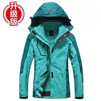冲锋衣男三合一冬季可拆卸两件套防水透气户外登山服男女风衣