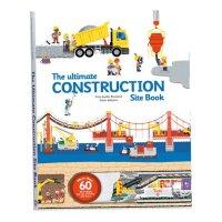 The Ultimate Construction Site Book 工程车大全【英文原版童书 翻翻书 精装大开本】