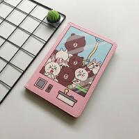 2018新款ipad air2保护套mini3熊娃娃机4皮套5/6软壳pro9.7卡通女 pro 9.7寸