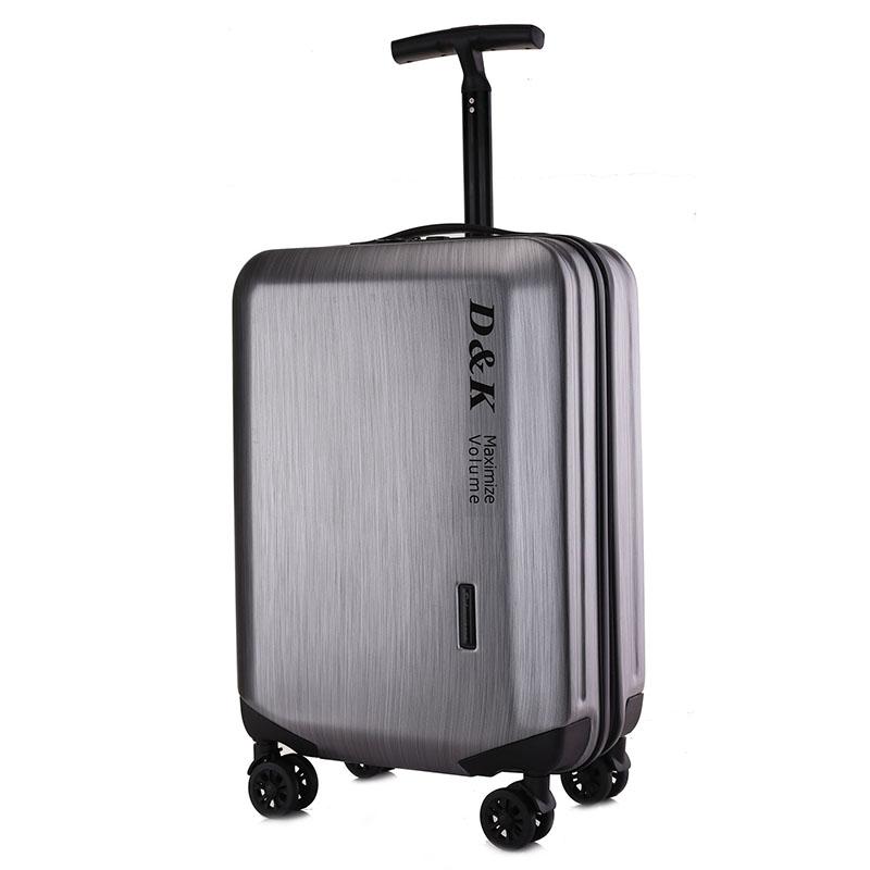 超轻拉丝单杆密码拉链20万向轮24行李箱28寸旅行箱拉杆箱皮箱 拉丝灰 28寸+精美礼品 发货周期:一般在付款后2-90天左右发货,具体发货时间请以与客服协商的时间为准