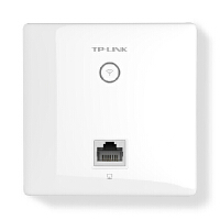TP-LINK普联TL-AP450I-PoE 450M面板AP 酒店宾馆无线wifi覆盖86型入墙式ap