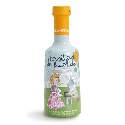 西班牙原装进口卡萨斯花都初榨橄榄油宝宝适用食用油250ml