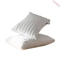 全棉决明子羽丝绒枕头 荞麦枕芯护颈椎枕 酒店单人学生枕