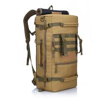 大容量户外登山包战术背包男女双肩包徒步旅游运动斜跨包