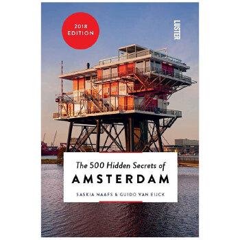 【500个隐藏秘密旅行指南】Amsterdam,阿姆斯特丹 英文原版旅游攻略 善本图书 汇聚全球出版物,让阅读改变生活,给你无限知识