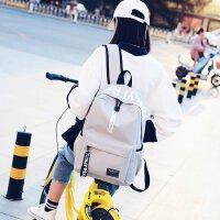 书包女韩版 高中学生背包百搭校园时尚潮流双肩包男士