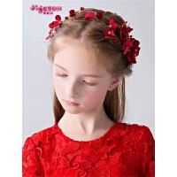 公主发箍发卡舞台演出女孩发饰宝宝饰品女童头花儿童花朵头饰