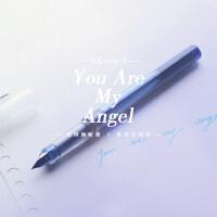 【败家实验室】德国天使 施耐德BK406-S 彩墨学生钢笔透明示范