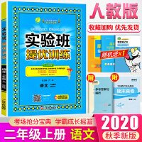 实验班提优训练二年级上册语文人教部编版