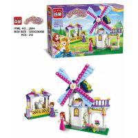 启蒙新品启蒙城市别墅积木5-8岁女孩拼装玩具公主屋拼插城堡模型