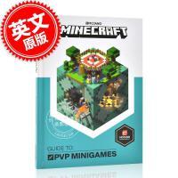 现货 我的世界官方指南:PVP迷你游戏 英文原版 Minecraft Guide to PVP Minigames 精装