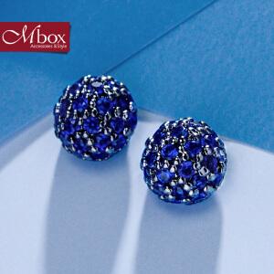 新年礼物Mbox耳钉 气质女韩国版采用波西米亚风元素时尚耳钉耳环 蓓蕾绽放