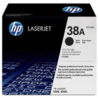 惠普原装正品 hp Q1338A黑色激光打印硒鼓 hp38A墨粉盒 惠普hp LaserJet 4200打印机墨盒