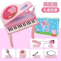 ?儿童玩具钢琴电子琴礼物品女孩初学者带麦克风1到3岁宝宝其它?