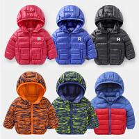 小童棉袄冬季童装男童棉衣冬装轻薄婴儿加厚宝宝秋冬儿童外套