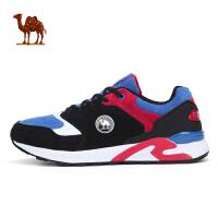 骆驼牌 情侣款运动跑鞋减震透气耐磨休闲鞋男复古跑鞋女