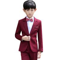 儿童西装套装春秋童装礼服男男童小西服宝宝西装 花童礼服男演出