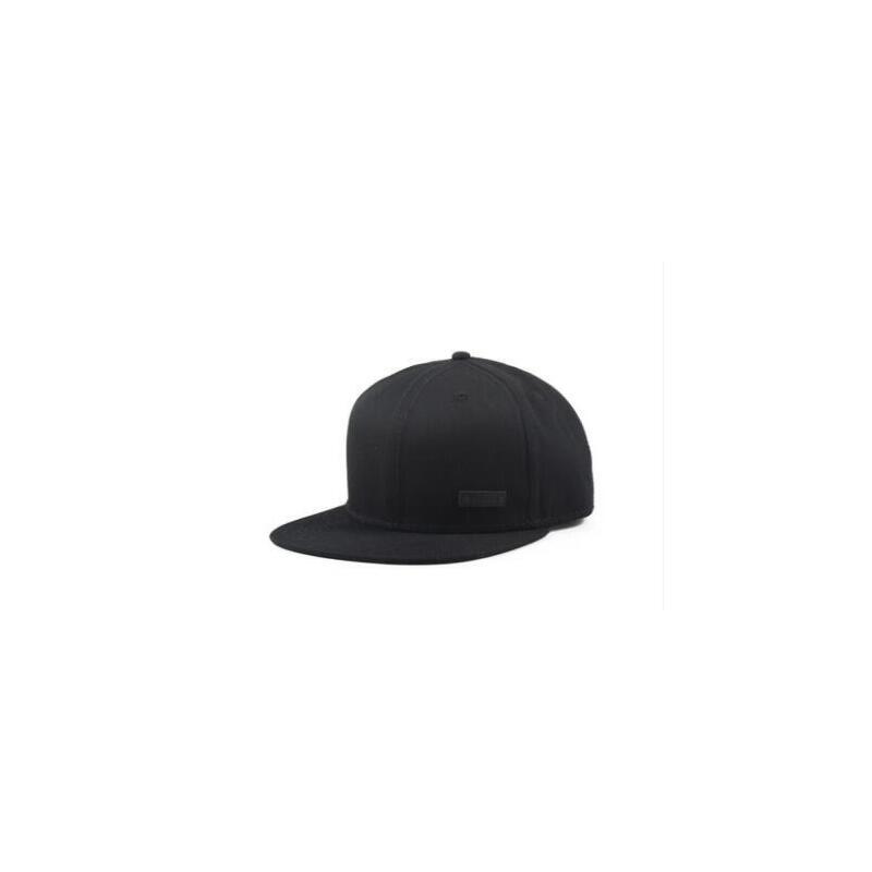 简约纯色帽子街头平沿帽男韩版潮牌鸭舌嘻哈帽男士帽子棒球帽 品质保证,支持货到付款 ,售后无忧