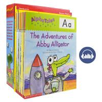 Scholastic Alpha Tales A to Z 美国学乐 26册字母童话 故事绘本+家长手册 幼儿英文字母