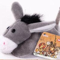 卡通毛绒玩具公仔冰箱贴磁铁创意吸铁石随意贴可爱仿真动物 小