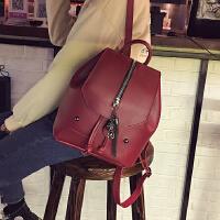 2017新款女包包双肩包韩版潮流时尚流苏背包学院风学生书包旅行包