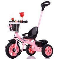 儿童三轮车1-2-3-4-5岁男女宝宝单车小孩自行车免充气三轮车脚踏车