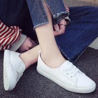 【支持礼品卡支付】2018夏季新款刺绣小白鞋女百搭学生板鞋韩版平底休闲女鞋子 RA-K192
