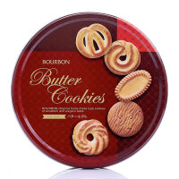 【爆品直降】波路梦Bourbon什锦黄油味曲奇饼干297.6g(日本进口 盒)