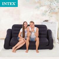大沙发阳台午休躺椅 懒人充气沙发床 单双人折叠沙发床宽