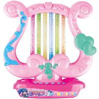 儿童电子琴女孩早教玩具多功能乐器宝宝儿童生日礼物 粉红色