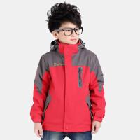男童秋冬装外套2018新款儿童冲锋衣三合一户外可拆卸套装加绒加厚