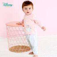 【139元3件】迪士尼Disney童装婴儿衣服 新款秋季迪斯尼儿童内衣套装可开档男女宝宝长袖休闲服183T822