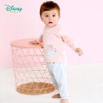 【2.6折价:46.02】迪士尼Disney童装婴儿衣服 新款秋季迪斯尼儿童内衣套装可开档男女宝宝长袖休闲服183T8