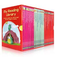 我的第二个图书馆 英文原版 My Reading Library 50册盒装 英国usborne出版社 分级阅读 故事插画书