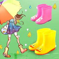 �和�雨鞋男童女童����雨靴防滑公主防水�W生水靴小童卡通小孩水鞋