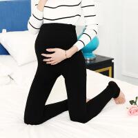 新款七彩棉孕妇打底裤 调节托腹踩脚加绒加厚保暖一体裤450g