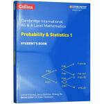 柯林斯剑桥国际统计数学1 教材学生用书 英文原版 Collins AS and A Level Mathematics