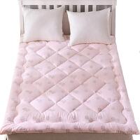 宽1.5米长2米的床垫褥子双人家用铺床褥子垫被子单人棉絮床垫被褥学生宿舍 其他尺寸咨询客服 定制不退换