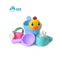 游泳池宝宝洗澡儿童花洒玩具套装