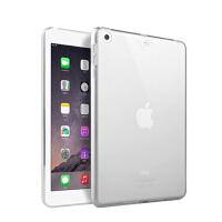 苹果iPad mini5平板电脑保护套迷你4硅胶1/2/3全包边防摔气囊软壳 mini 5透明