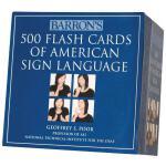 【预订】Barron's 500 Flash Cards of American Sign Language