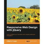 【预订】Responsive Web Design with Jquery
