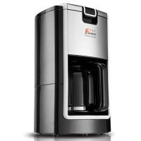 家用全自动滴漏式美式咖啡机智能温控煮咖啡壶煮黑茶泡茶机