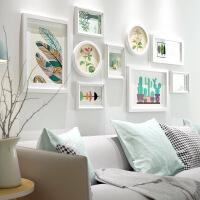 客厅沙发背景墙装饰画餐厅简约现代小清新挂画田园花卉组合墙画 144*60