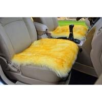 纯羊毛坐垫汽车坐垫 冬季毛垫单座四方垫冬季澳毛车垫 汽车用品
