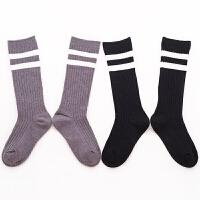 儿童中筒袜男童足球袜春秋女童长袜子中大童长筒袜夏季