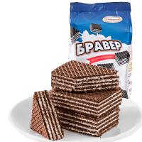 俄罗斯进口阿孔特小农庄巧克力/原味夹心威化零食 奥里奥饼干办公室休闲食品