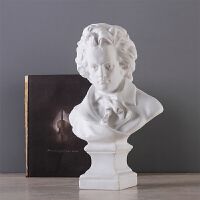欧式贝多芬石膏艺术雕像工艺品摆件家具装饰品玄关客厅办公室摆设
