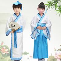 六一儿童表演服装古装汉服男女童国学小学生幼儿弟子规书童演出服
